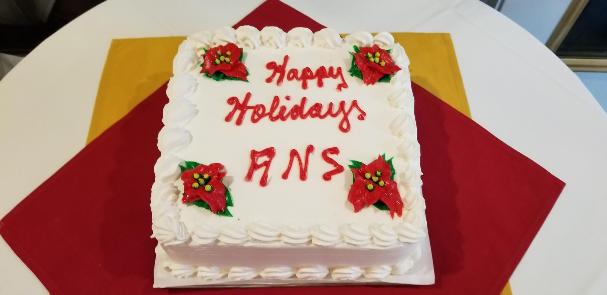 Holiday 2018 cake
