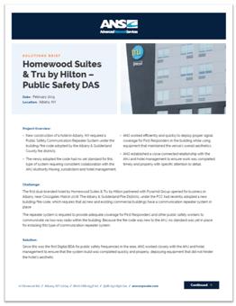 homewood suites solution brief