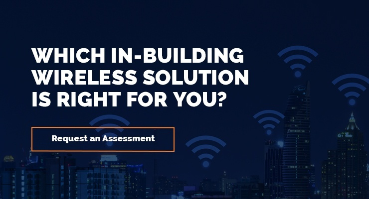 request an in-building wireless assessment