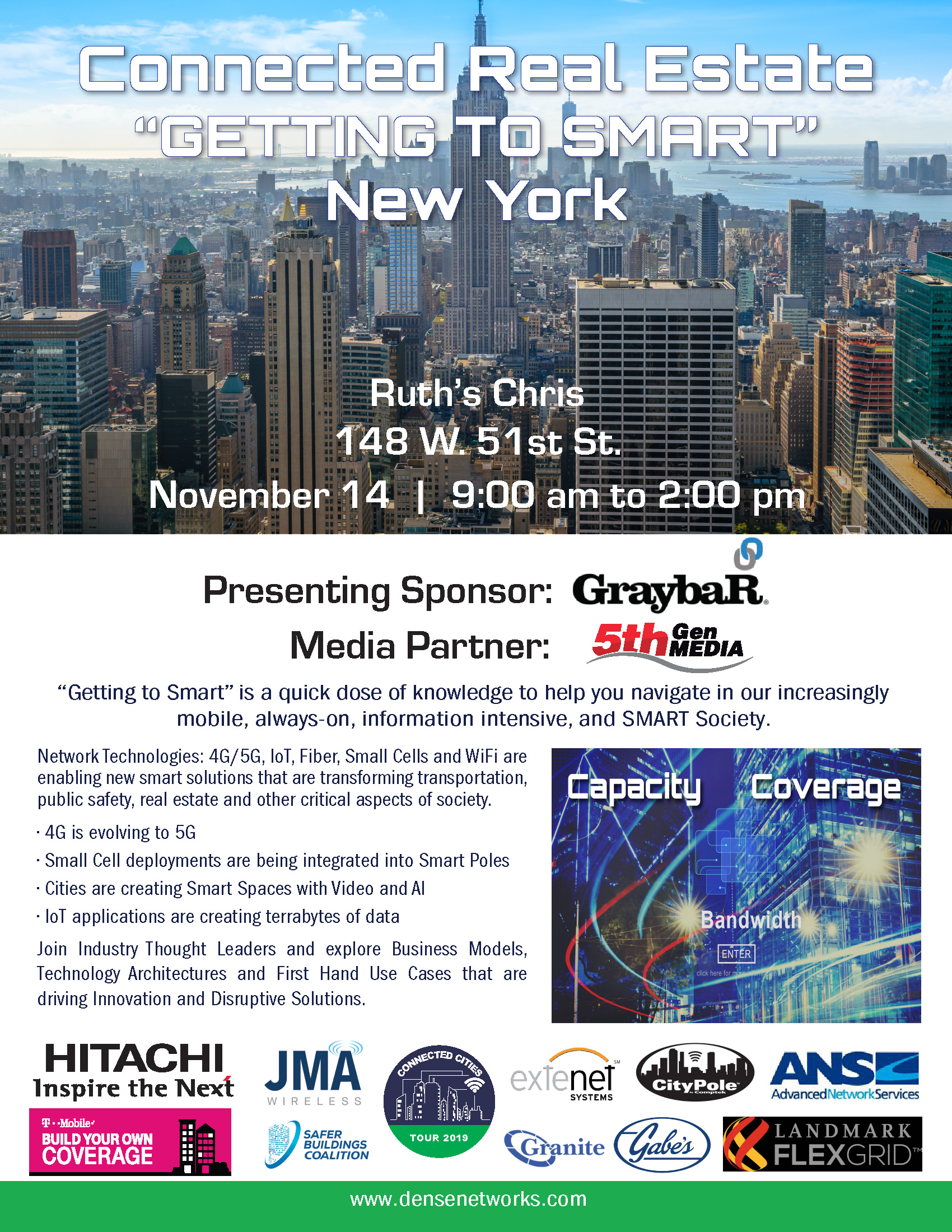 New York 2 Poster 2019 Dense Networks Sponsor